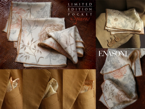 Floral Pocket Square by ENASONI